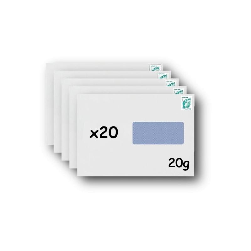 50 enveloppes timbr es kraft livraison j 2 lettre verte poids maximum 250g. Black Bedroom Furniture Sets. Home Design Ideas