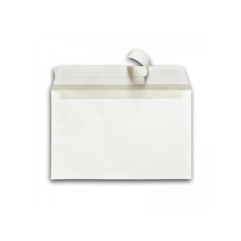 Pack 100 Enveloppes timbrées - Format postal C6 - Lettre verte - 20g