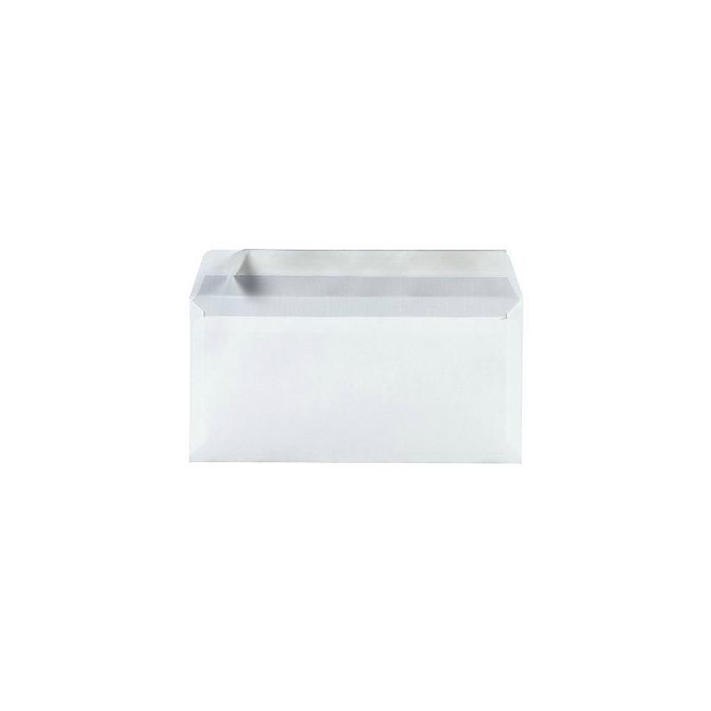 Pack 100 Enveloppes timbrées - Format postal DL - Lettre verte - 100g
